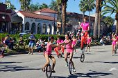 Unicycling And Juggling
