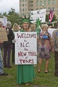 North Carolina Politics Protest
