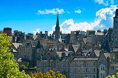 Edinburgh View, Scotland, Uk.
