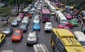 Bangkok City Street Scene