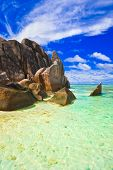 Tropical beach - nature vacation background