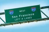 San Francisco Interstate 80