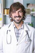 Pharmacist And Stethoscope