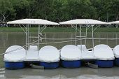 Boat In The Public Park