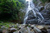 Sunanta Waterfall Is Beautiful Waterfall Thailand