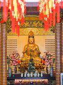 Statue in Thean Hou Temple at Kuala Lumpur Malaysia