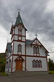Husavik Church, Northern Iceland