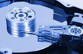 Computer hard disk - technology background