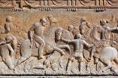 Bas-relief of the Palace of Carlos V - Alhambra Granada Spain