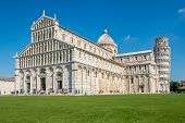 Cathedral Of Pisa At Place Duomo