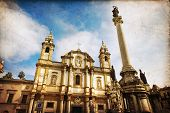 stock photo of domination  - Church of Saint Dominic in Palermo Italy - JPG