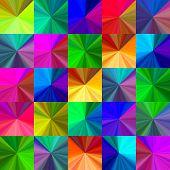 Crystal seamless pattern