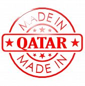 Made In Qatar Red Seal