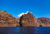 Los Gigantes rock at Tenerife island - Canary Spain