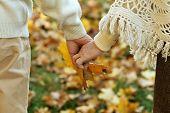 Hands held together