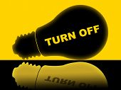 Save Energy Means Light Bulb And Electric