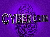 Cyber Crime Shows Malware Threat And Malicious