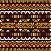 Ethnic Decorative Background. Seamless Pattern For Wrapping Paper, Textile, Packaging