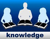 Knowledge Books Indicates Proficiency Textbook And Expertness