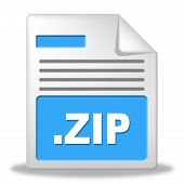 Zip File Represents Fact Organize And Files