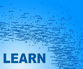 Learn Words Means Educated Tutoring And Schooling
