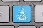 Christmas Computer Key