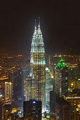 KUALA-LUMPUR, MALAYSIA - AUGUST 04: Twin towers on September 04, 2011 in Kuala-Lumpur, Malaysia.