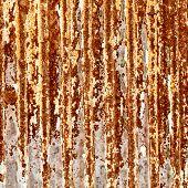 rusty metallic frame texture
