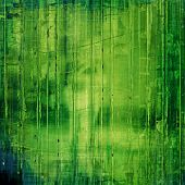 Background with grunge stains and green patterns
