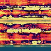 Grunge texture. With yellow, red, orange, blue patterns