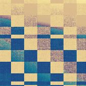 Old, grunge background texture. With yellow, brown, blue patterns