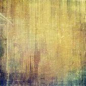 Art grunge vintage textured background. With yellow, brown, purple, green patterns