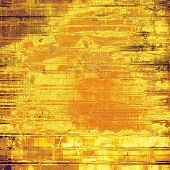 Old Texture or Background. With yellow, brown, orange patterns