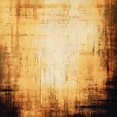 Abstract grunge background of old texture. With yellow, brown, black patterns