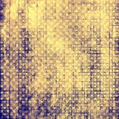 Old grunge antique texture. With yellow, brown, violet patterns