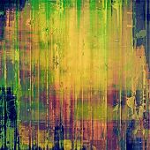 Old abstract texture with grunge stains. With brown, orange, purple, blue patterns