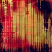 Background with grunge stains. With brown, red, orange, violet patterns
