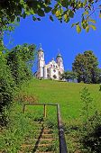 stock photo of calvary  - bavarian monastery on calvary hill bad tolz germany  - JPG