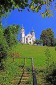 picture of calvary  - bavarian monastery on calvary hill bad tolz germany  - JPG