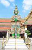 pic of rogue  - Green giant Ravana built to protect the city - JPG