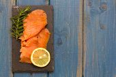 Smoked Salmon With Lemon And Rosemary