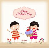 picture of heartfelt  - happy mothers day with greeting card beautiful - JPG