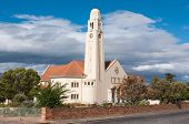 picture of south-western  - Dutch Reformed Church in Riviersonderend in the Western Cape Province of South Africa - JPG