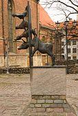 Bremer stadtmusikanten in Riga