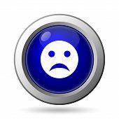 image of angry smiley  - Sad smiley icon - JPG