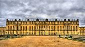 picture of versaille  - View of the Palace of Versailles - France