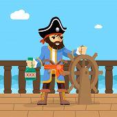pic of pirate ship  - Filibuster - JPG