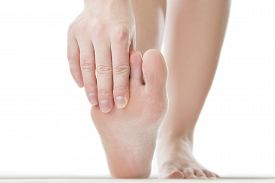 picture of foot  - Massage of female feet - JPG