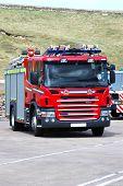 British Fire Engine