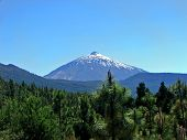View Of Volcano Teide